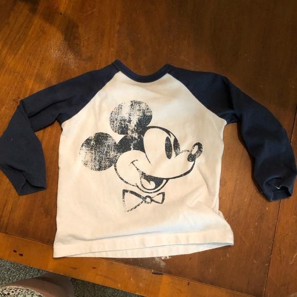 d5c733890 H&M Shirts & Tops | Hm Mickey Shirt Disney | Poshmark